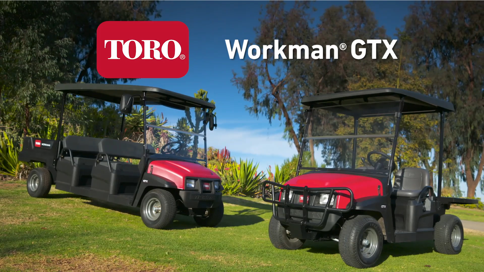 Toro® Workman® GTX Utility Vehicles