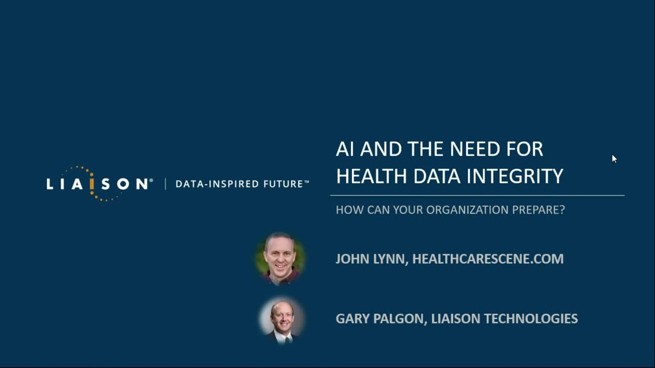 AI and the Need for Health Data Integrity