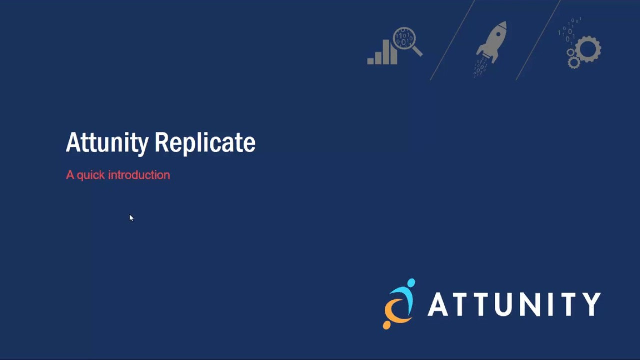 Attunity Replicate Demonstration: Replicating Data from Oracle to Hadoop