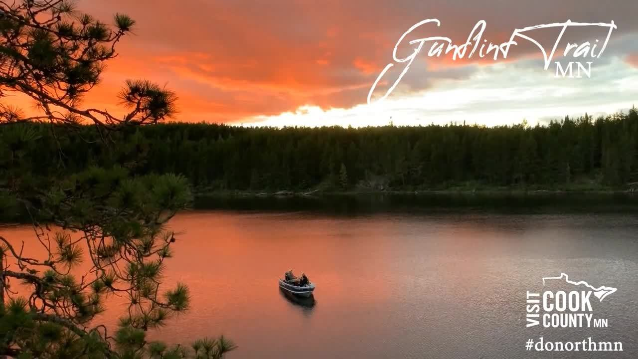 Zoom - Video - Gunflint Trail - Sunset