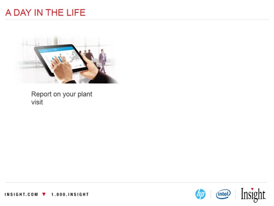 HP ElitePad Business Decision Maker Webinar From Insight