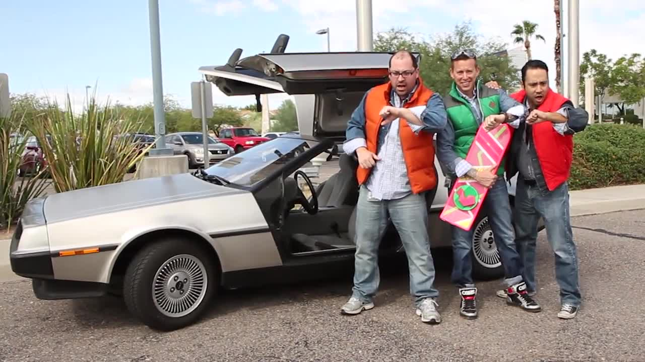 Insight presents Back to the Future Day!