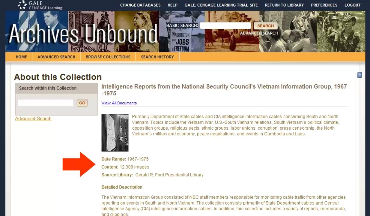 Archives Unbound - Navigating Collections Thumbnail
