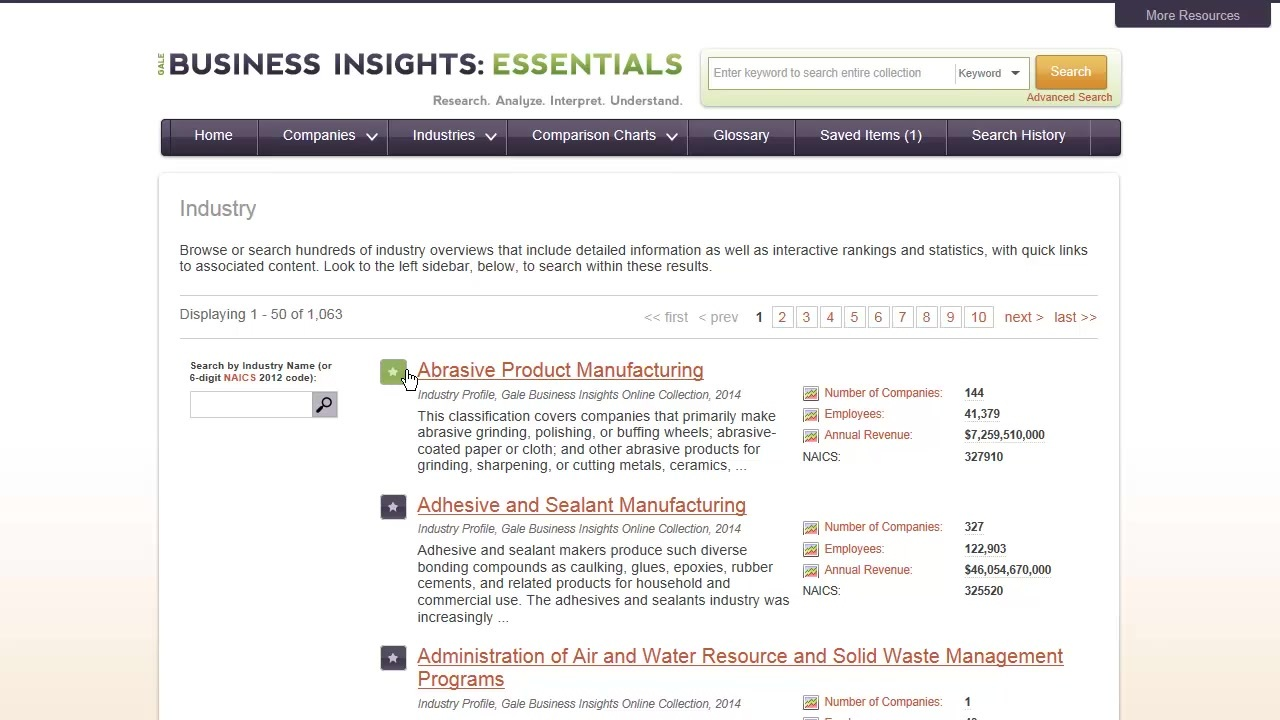 Business Insights: Essentials - Industries Thumbnail