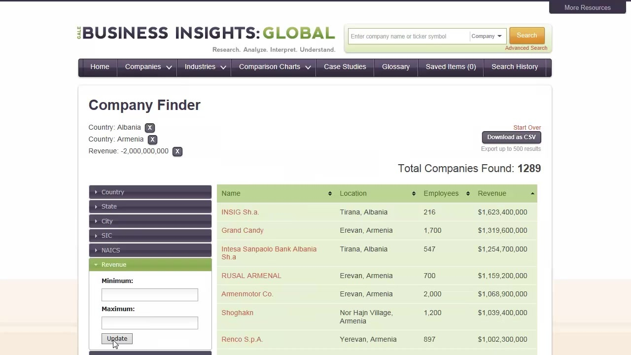 Business Insights: Global - Companies Thumbnail