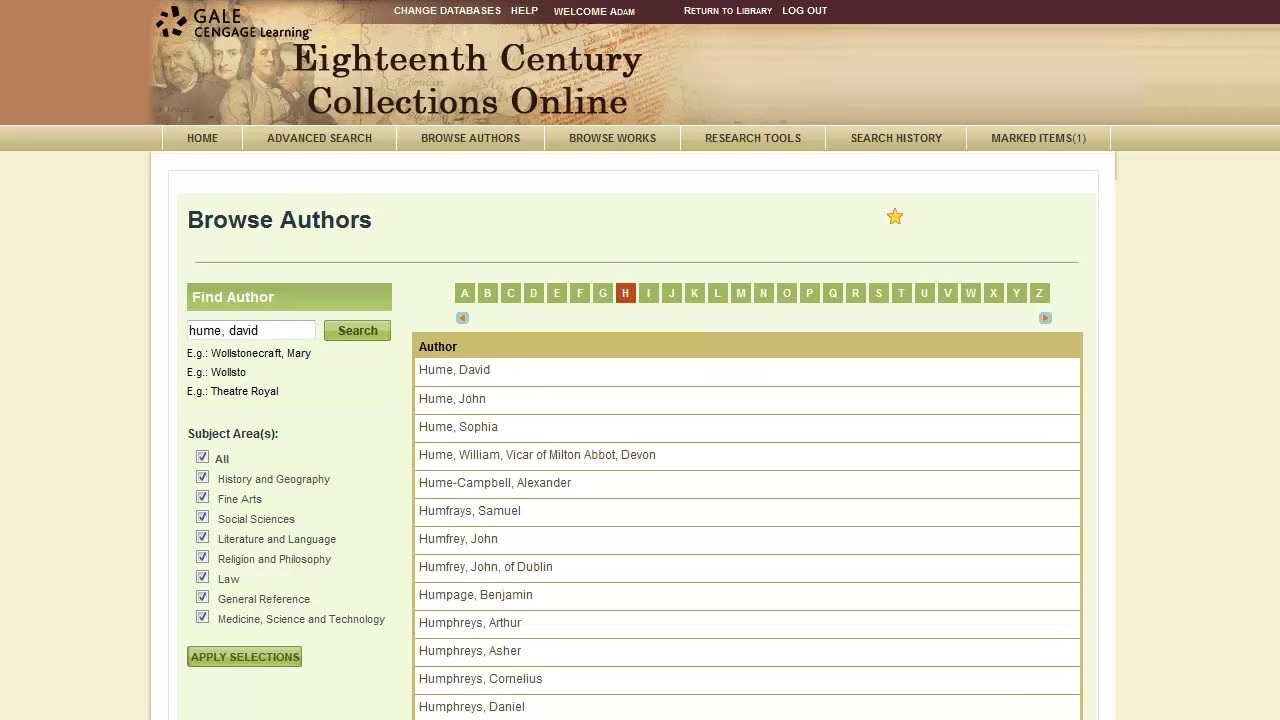 Eighteenth Century Collections Online - Browsing Thumbnail
