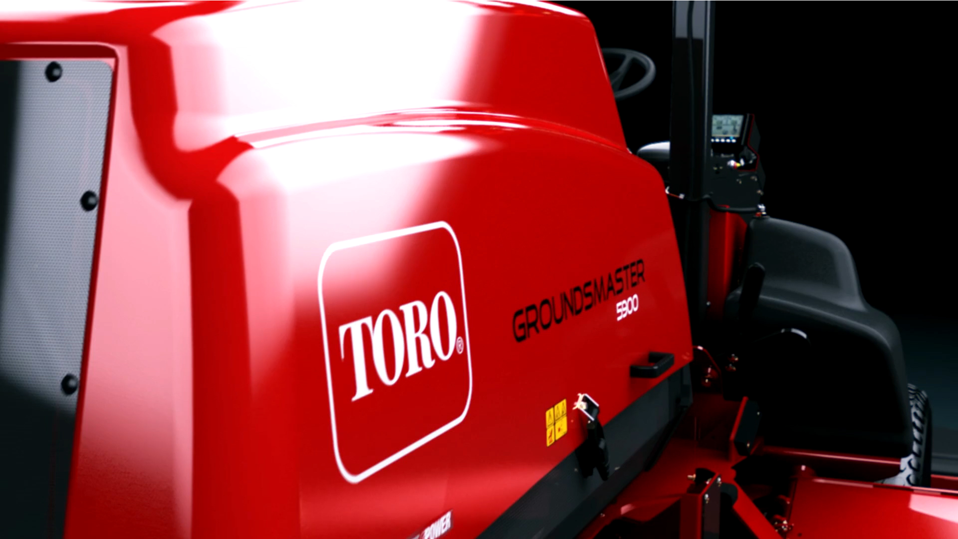 Toro® Groundsmaster® 5900/5910 Tier 4