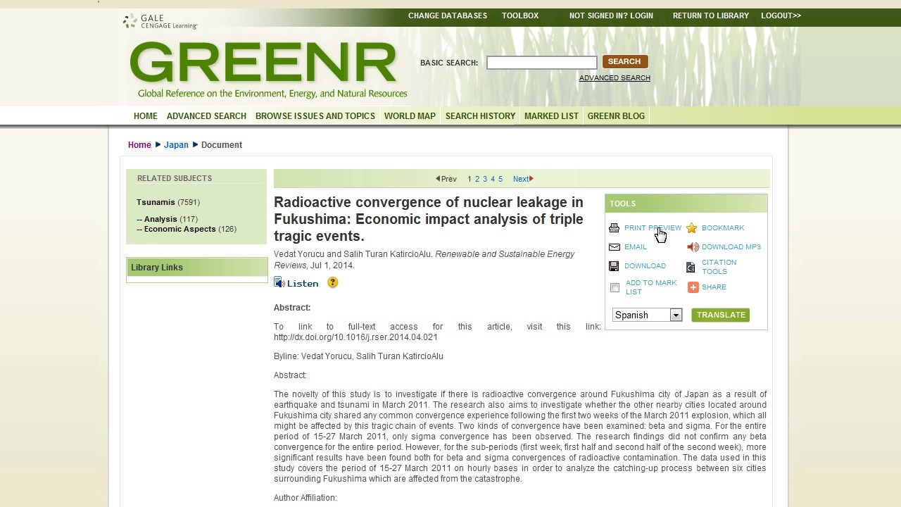 GREENR - Working with Documents Thumbnail