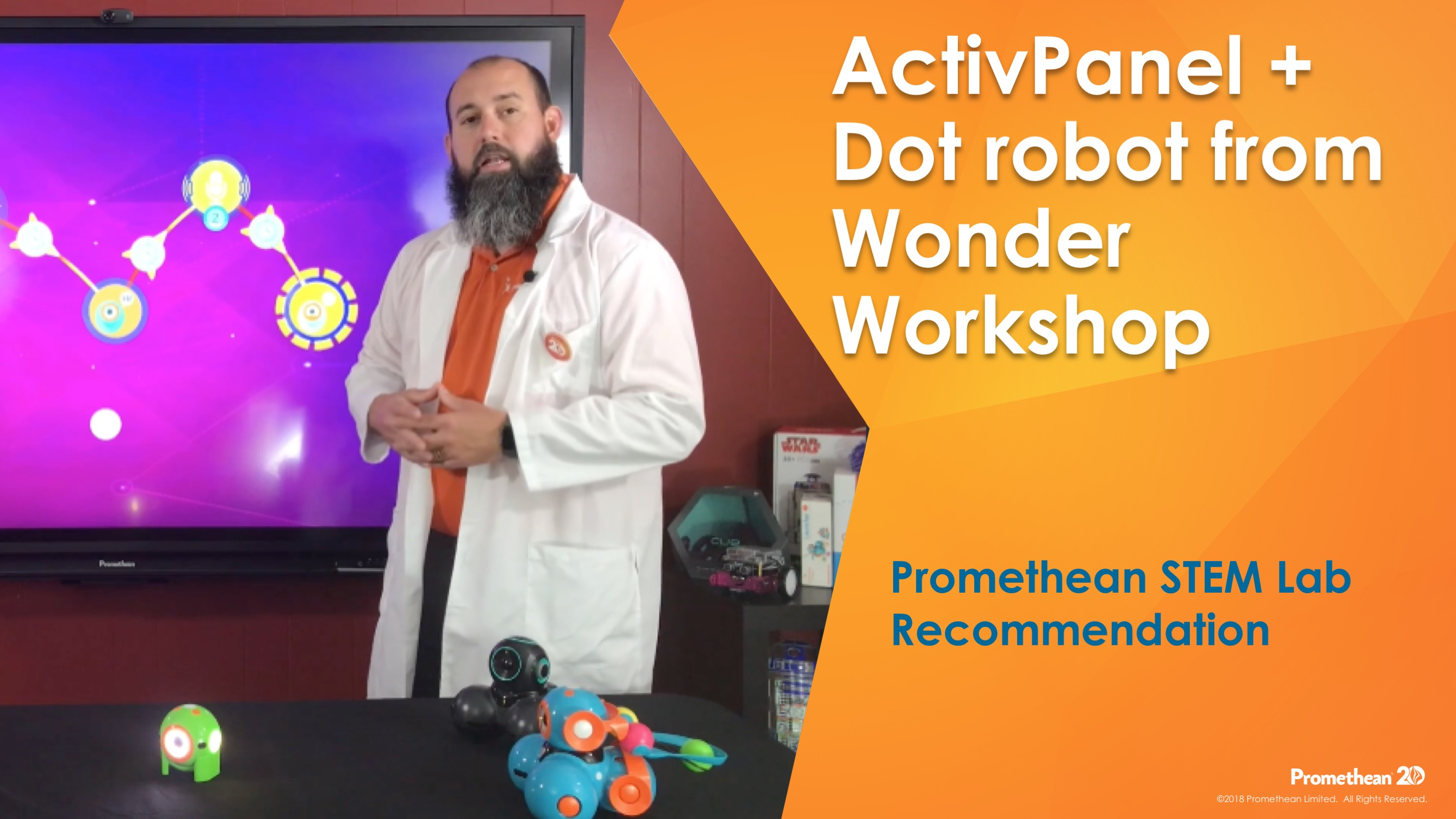 Dot Robot with ActivPanel - Promethean STEM Feature