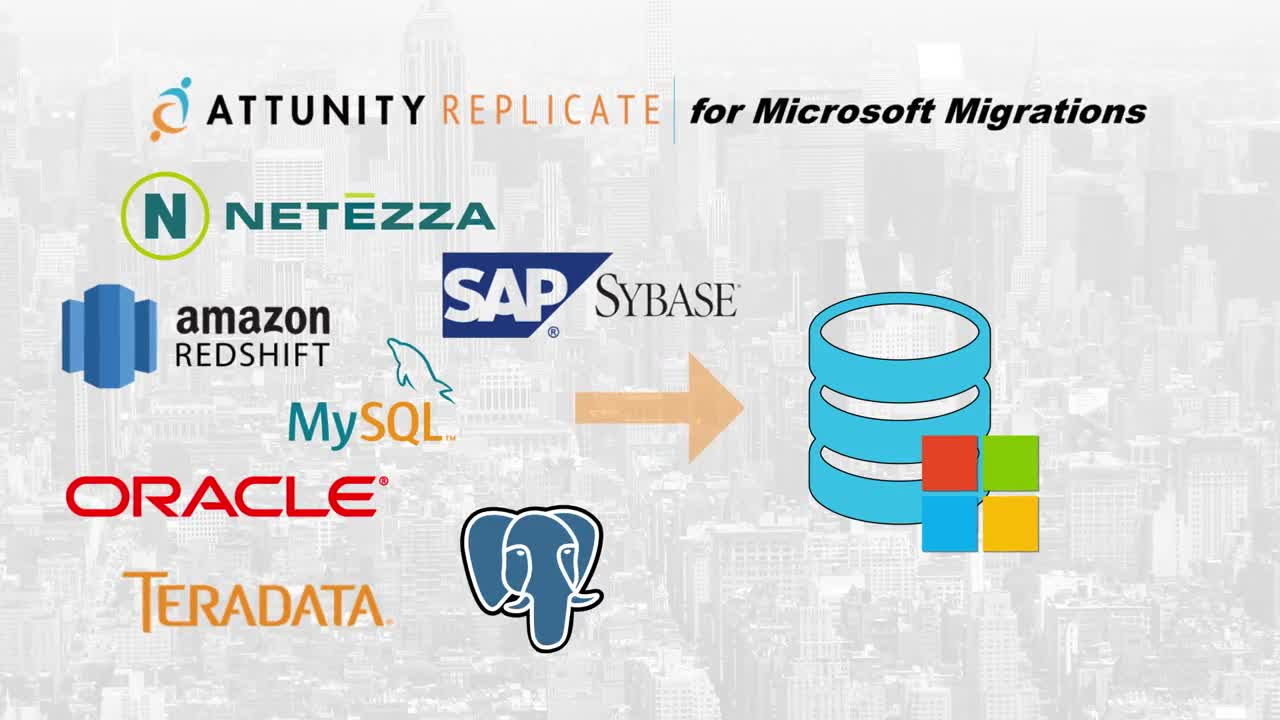 Attunity Replicate for Microsoft Migrations