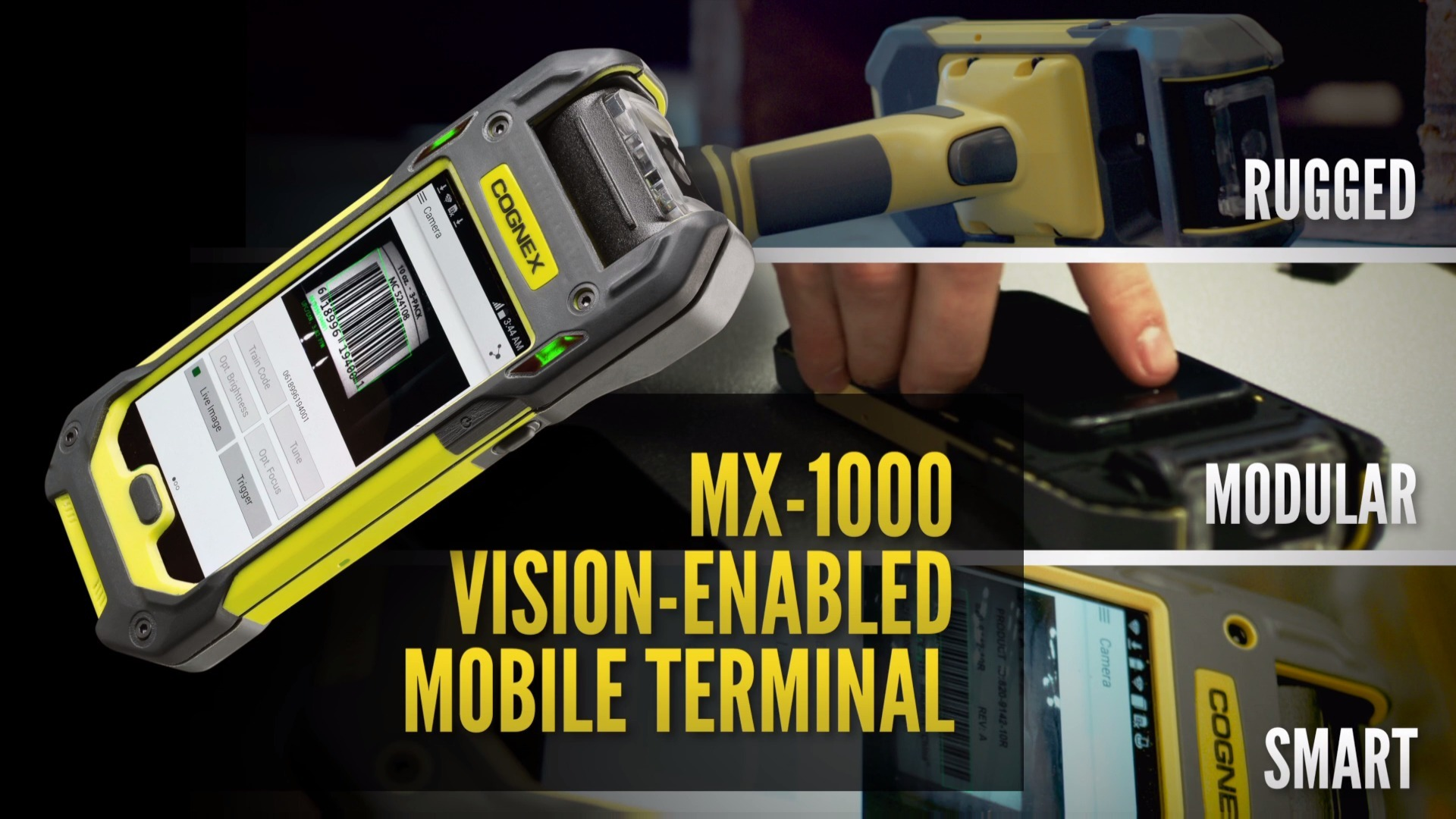 MX-1000 Vision-enabled Mobile Terminal Demo