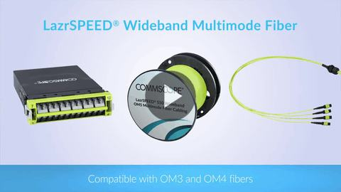 LazrSPEED OM5 Wideband Multimode Fiber – more bandwidth, fewer fibers