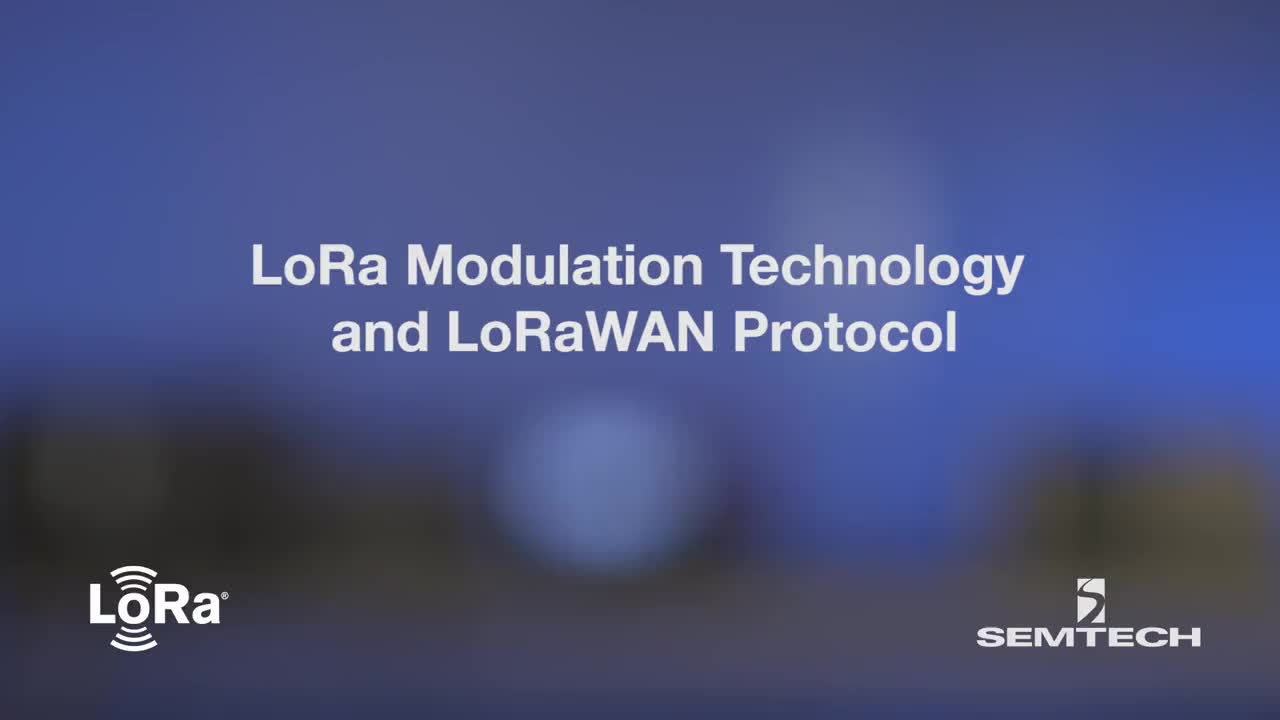 LoRa Modulation Technology and LoRaWAN Protocol