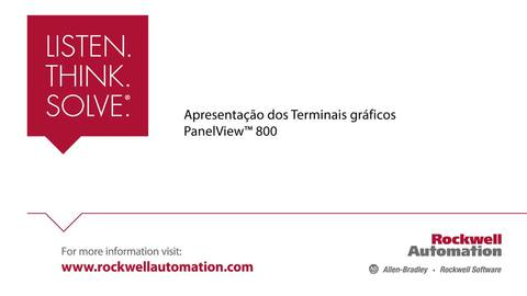 panelview 800 graphic terminals