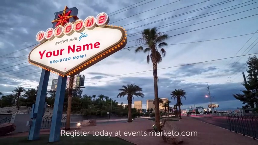 Marketo Summit Event Promo