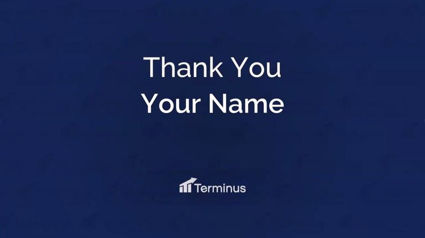 Terminus Fundraise Thank You!