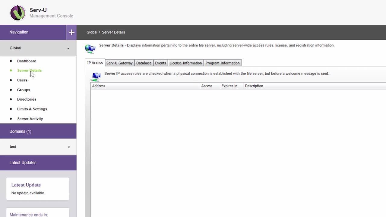 Managed file transfer using serv-u mft server youtube.