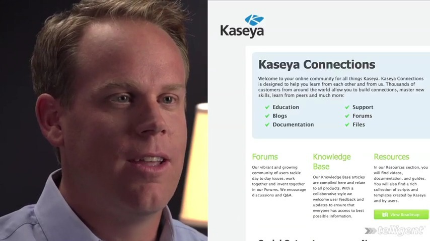 Social Customer Service at Kaseya