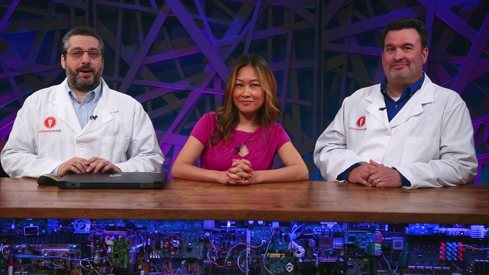 SolarWinds Lab #32: Two Geeks and a Goddess