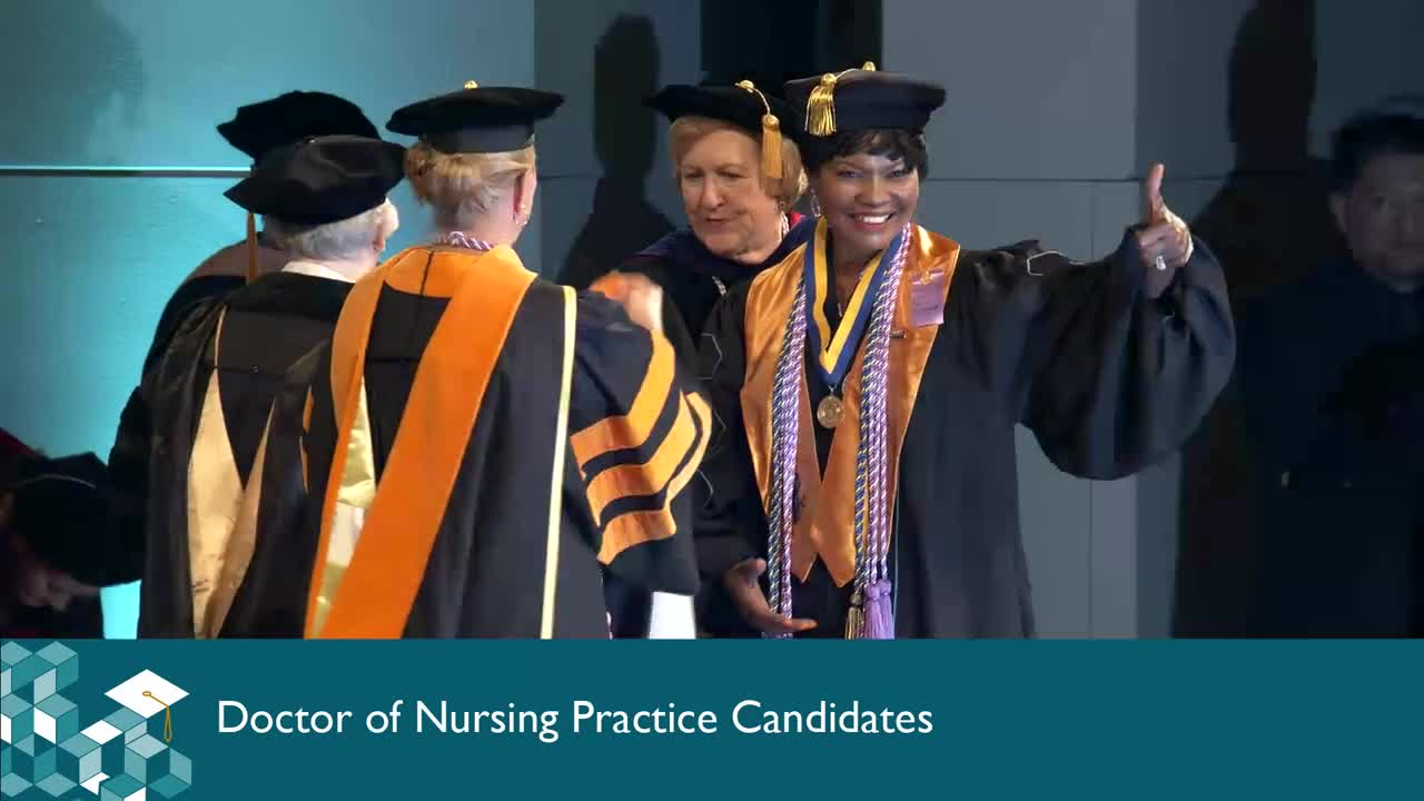 2018 Walden School of Nursing Summer Commencement Ceremony