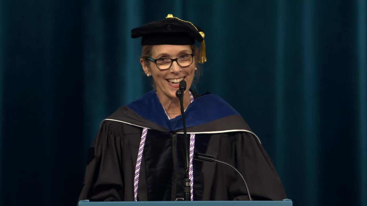 Filmmaker Carolyn Jones Speaks at 2018 School of Nursing Commencement