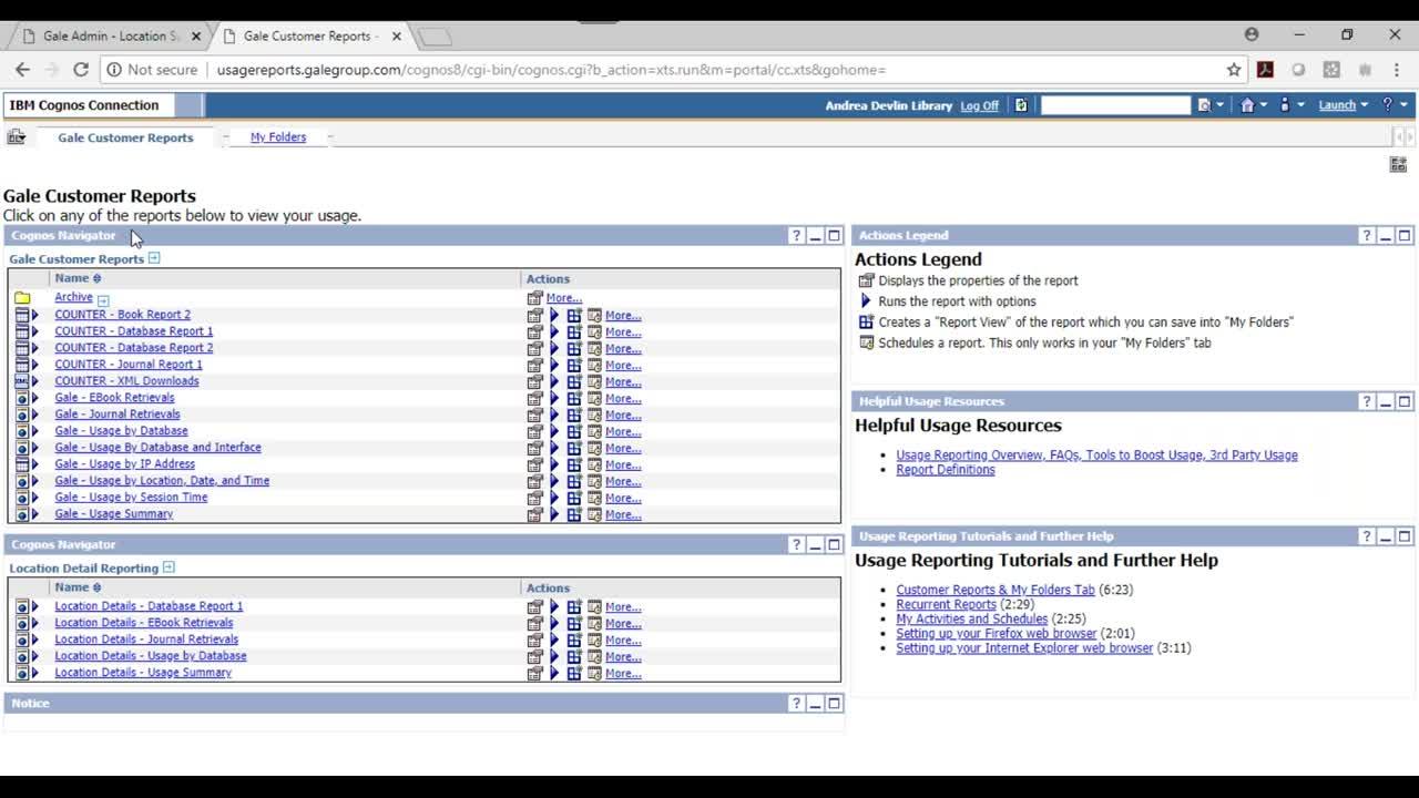 Gale Usage Portal Webinar Thumbnail