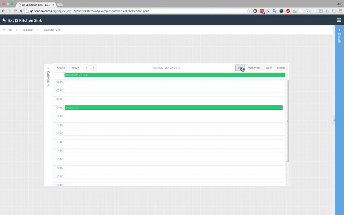 Ext JS Calendar Component & Schedule Management - Sencha Videos