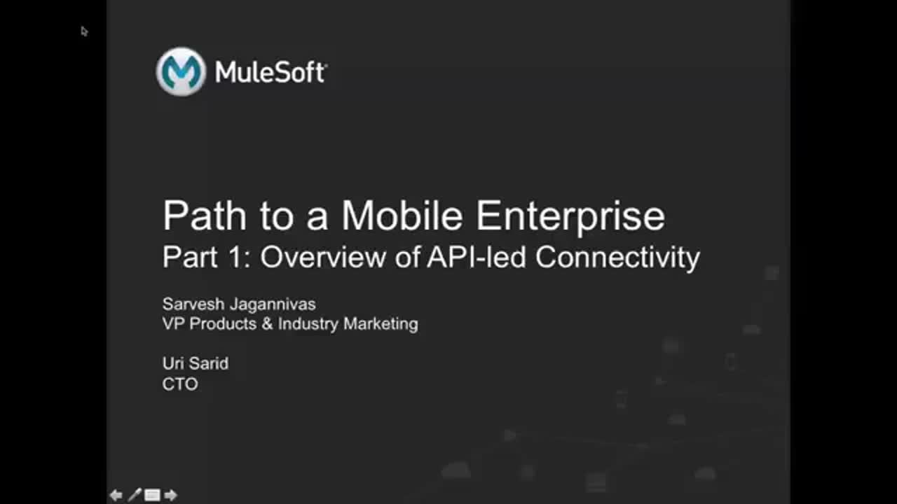 Webinar: The path to becoming a mobile enterprise