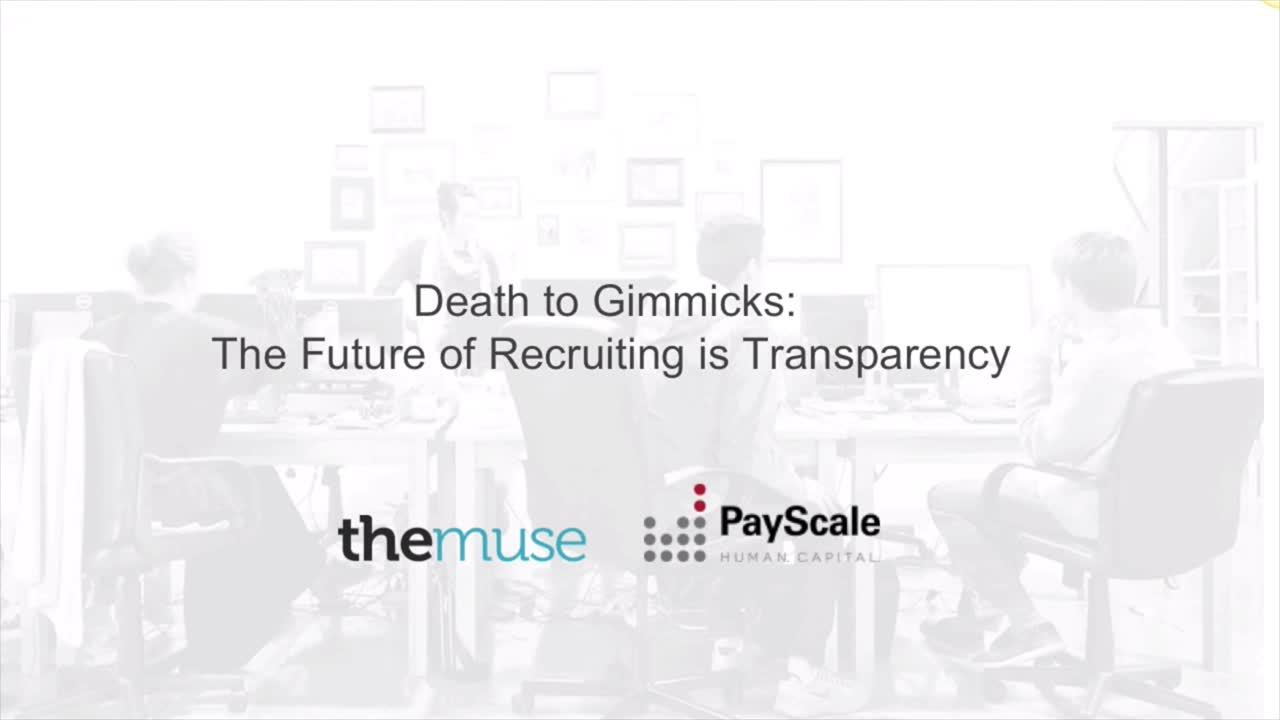 The Future of Recruiting is Transparency