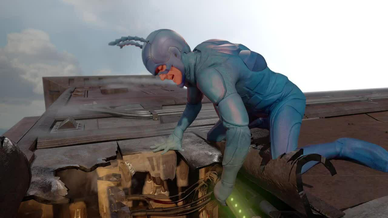 The Tick VFX Breakdown - Jason Gottlieb