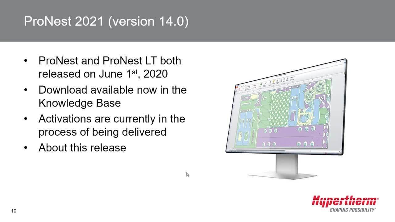 ProNest 2021 webinar - EN