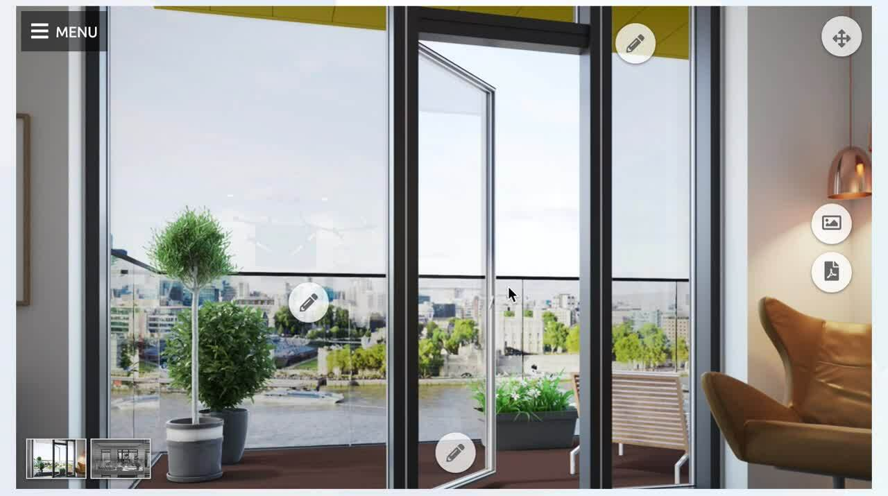 sapphire balconys