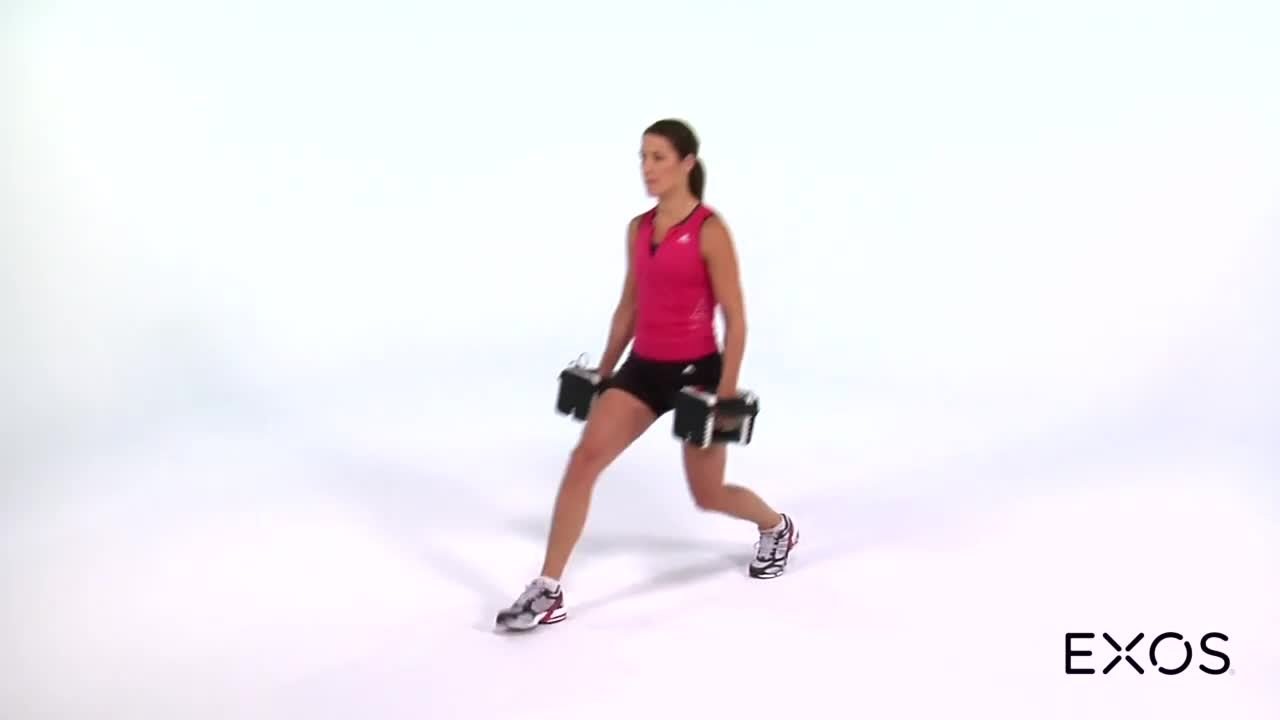 Forward - Reverse Lunge