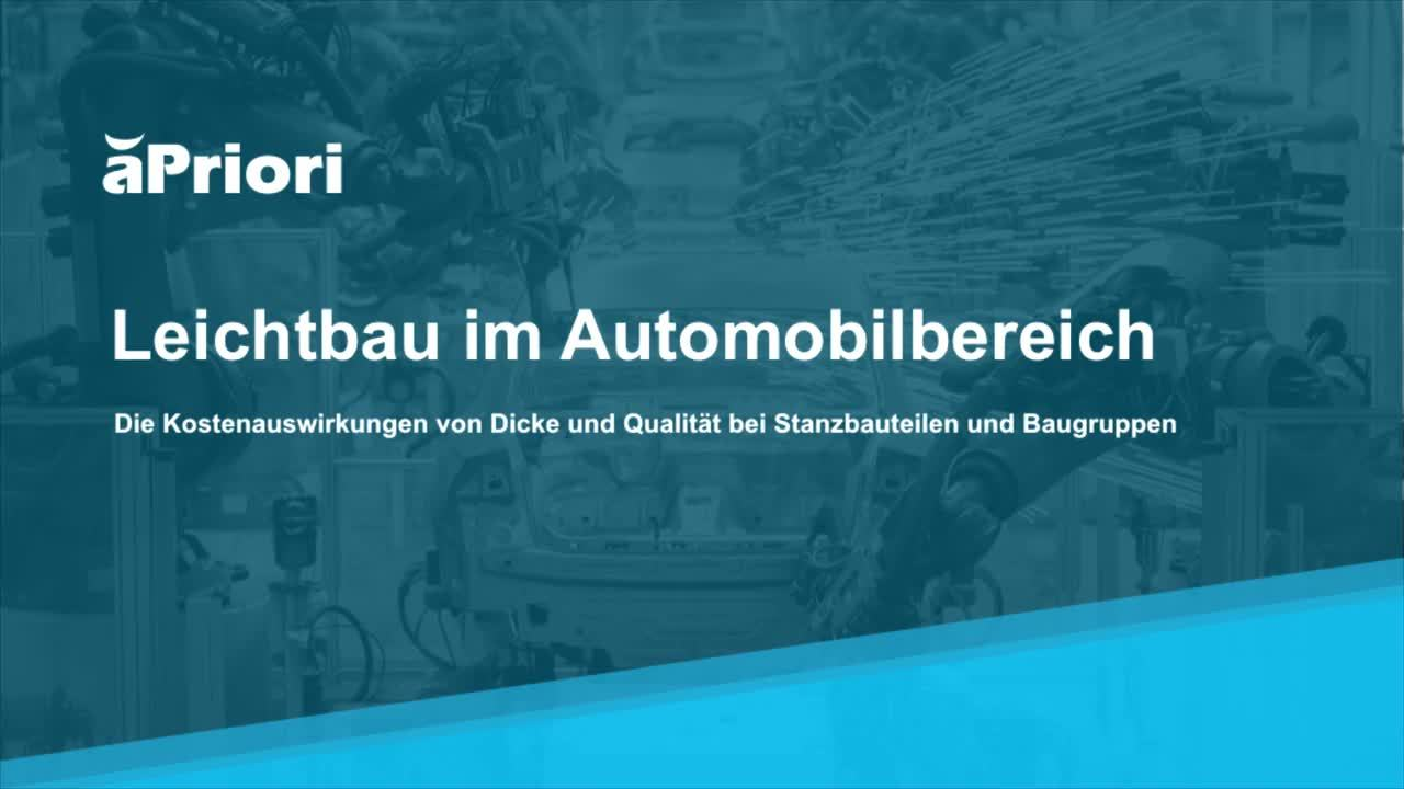 Automotive LightWeighting Demo DE - Automobilwoche PH1 - G