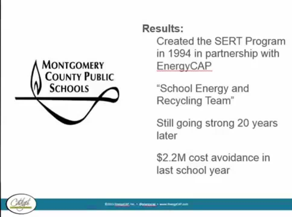 Montgomery County27s Energy Management Success
