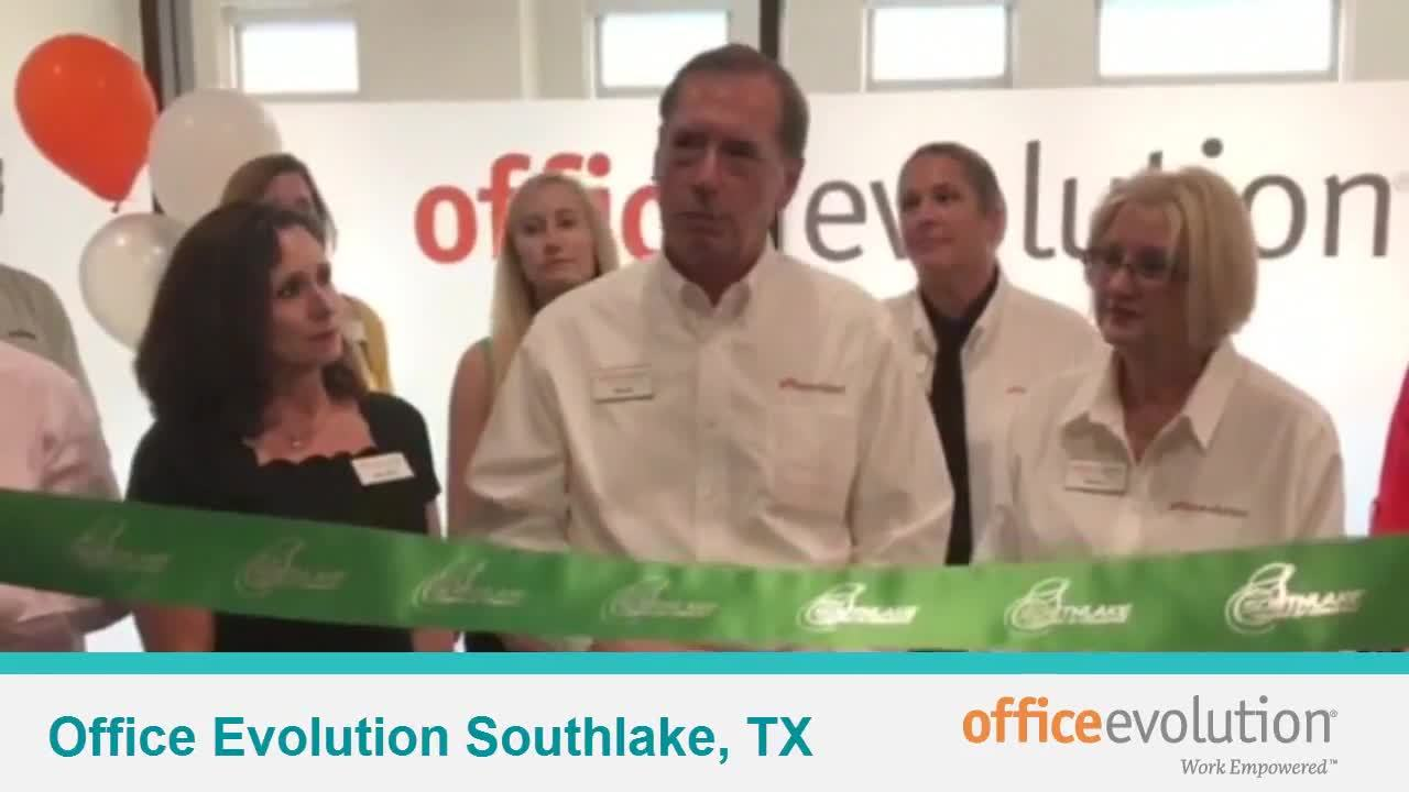 Ribbon Cutting and Grand Opening of Office Evolution Southlake, TX