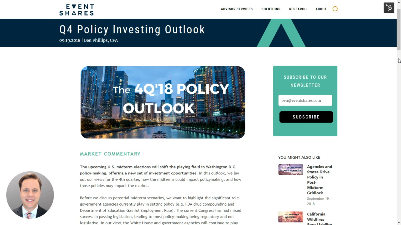 Q4 Policy Investing Outlook