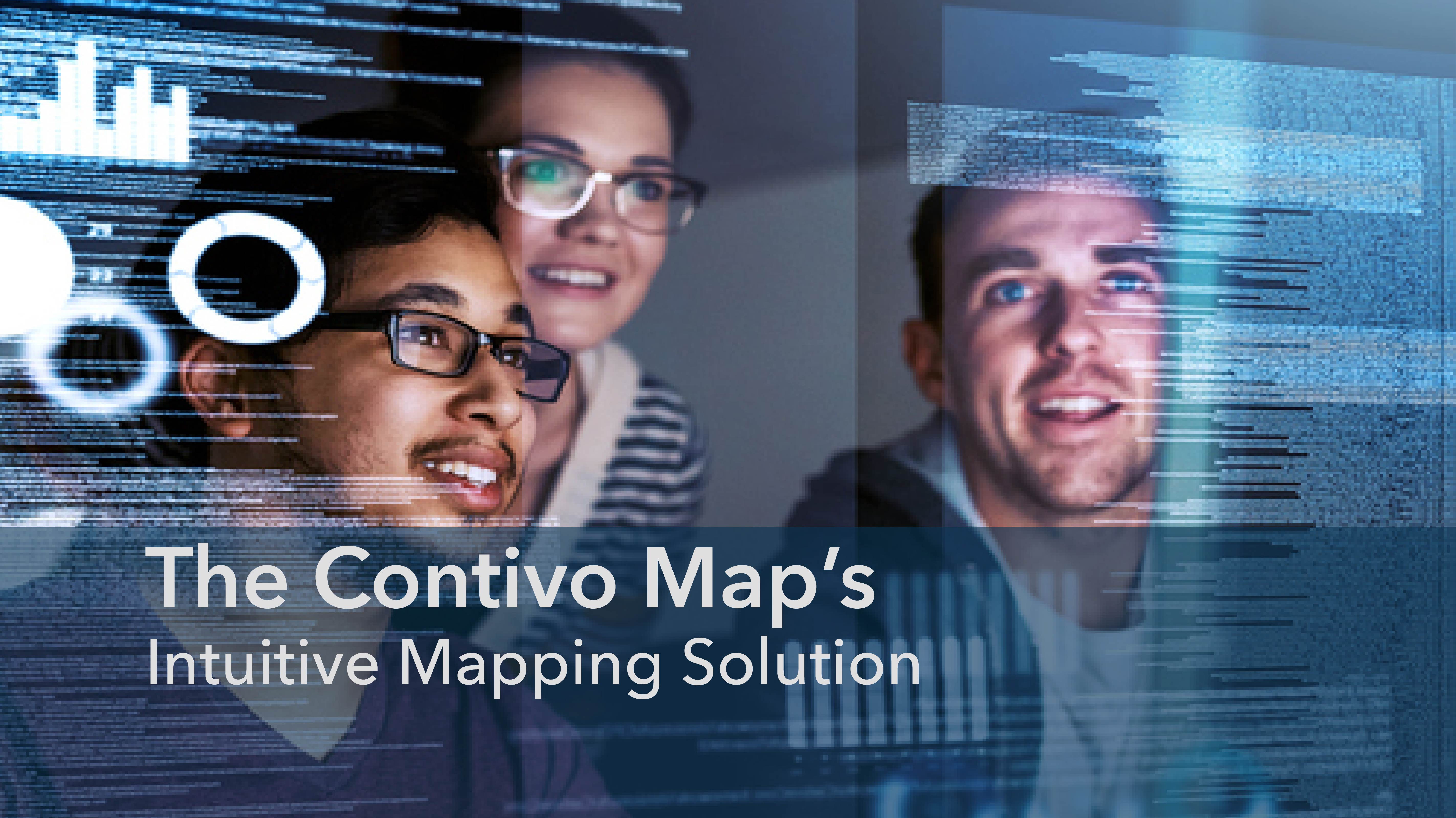 The Contivo Map's Intuitive Mapping Solution