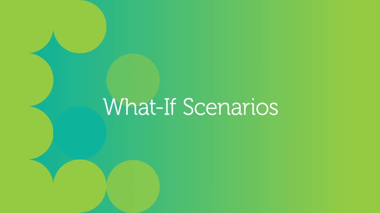 Adaptive Insights Demo 2 - What-If Scenarios