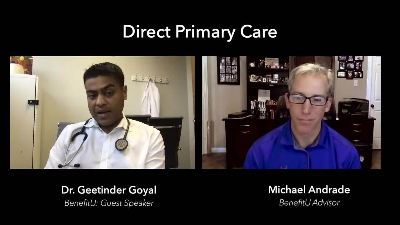 BenefitU - Interview with Dr Goy