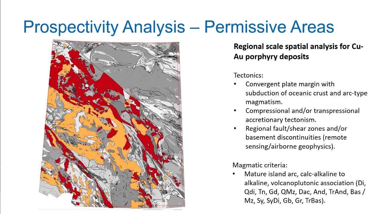 Mineral Prospectivity Mapping - Integrating multidisciplinary geoscience data