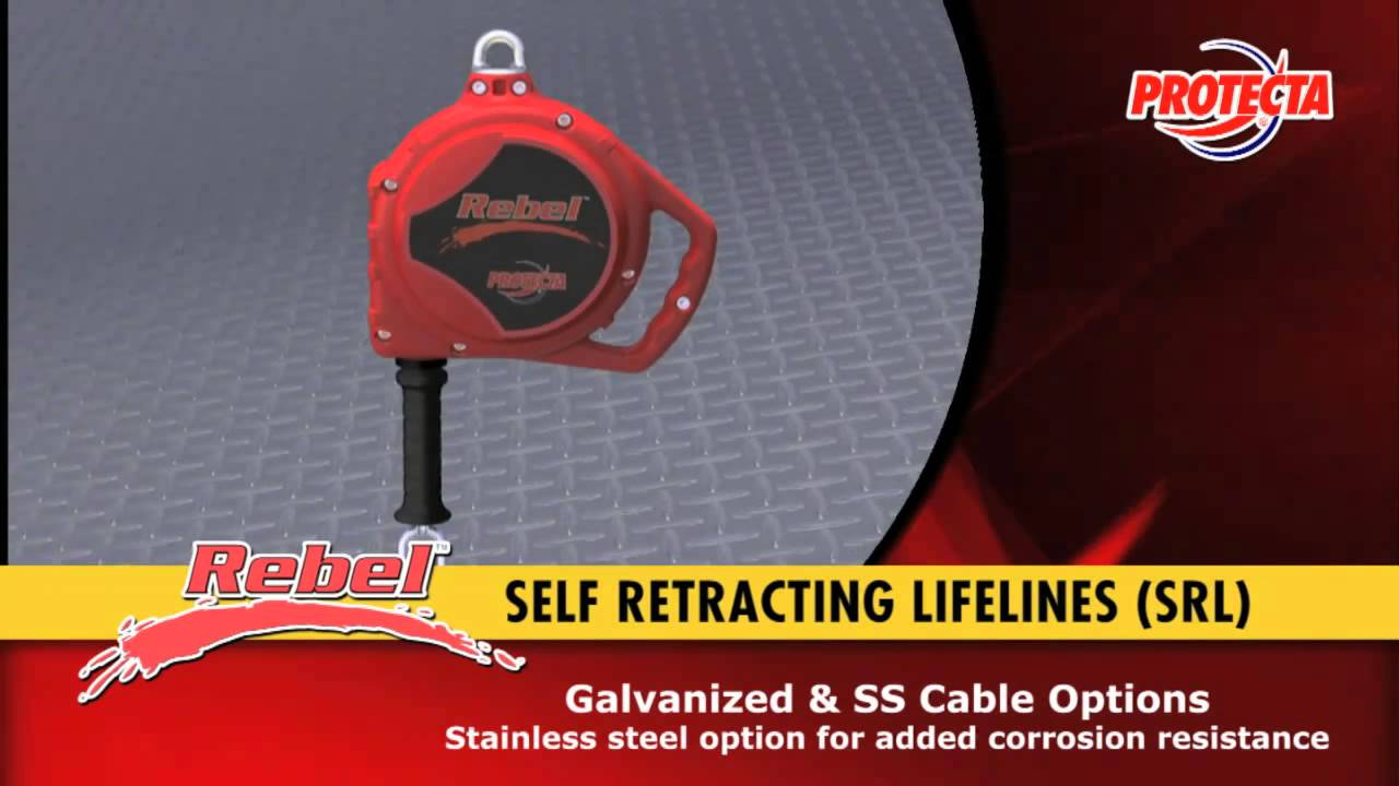 Keyline Safety: Capital Safety - Protecta Rebel™ Self Retracting Lifelines (copy)