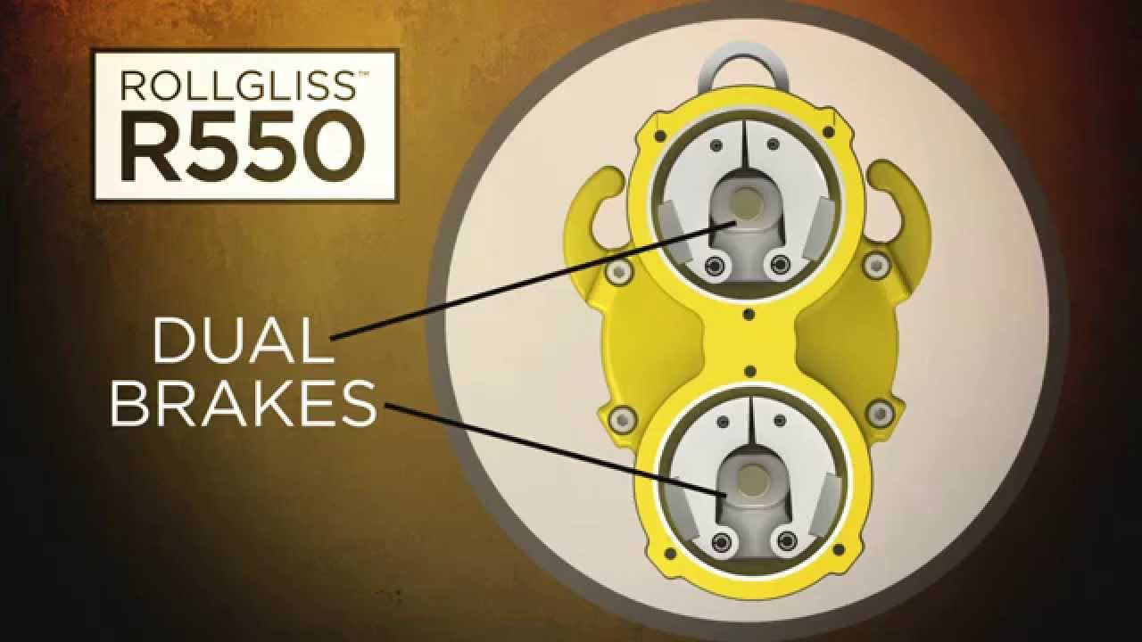 Keyline Safety:Rollgliss™ R550: Fall Rescue & Descent Systems
