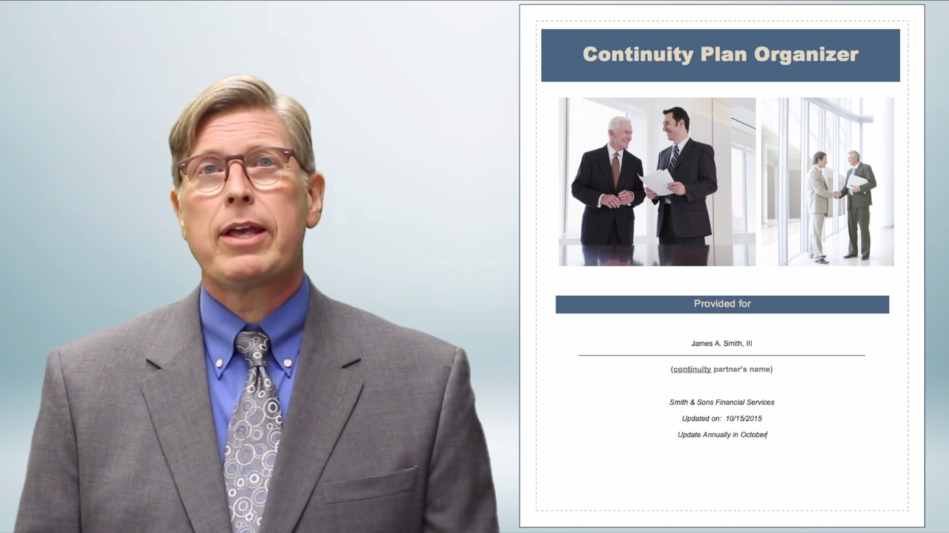 Continuity Planning - Agreement