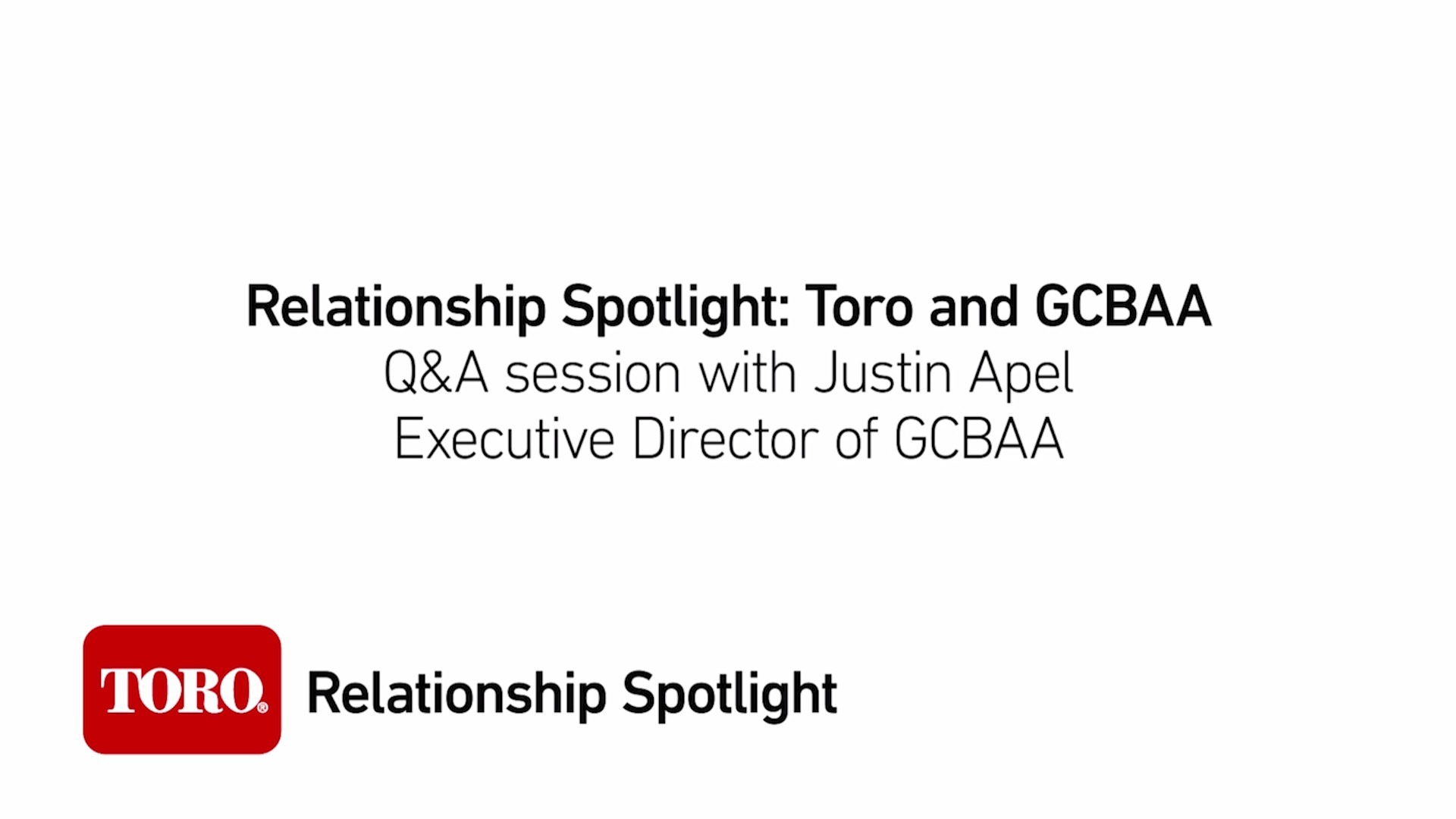 Relationship Spotlight: What is GCBAA?