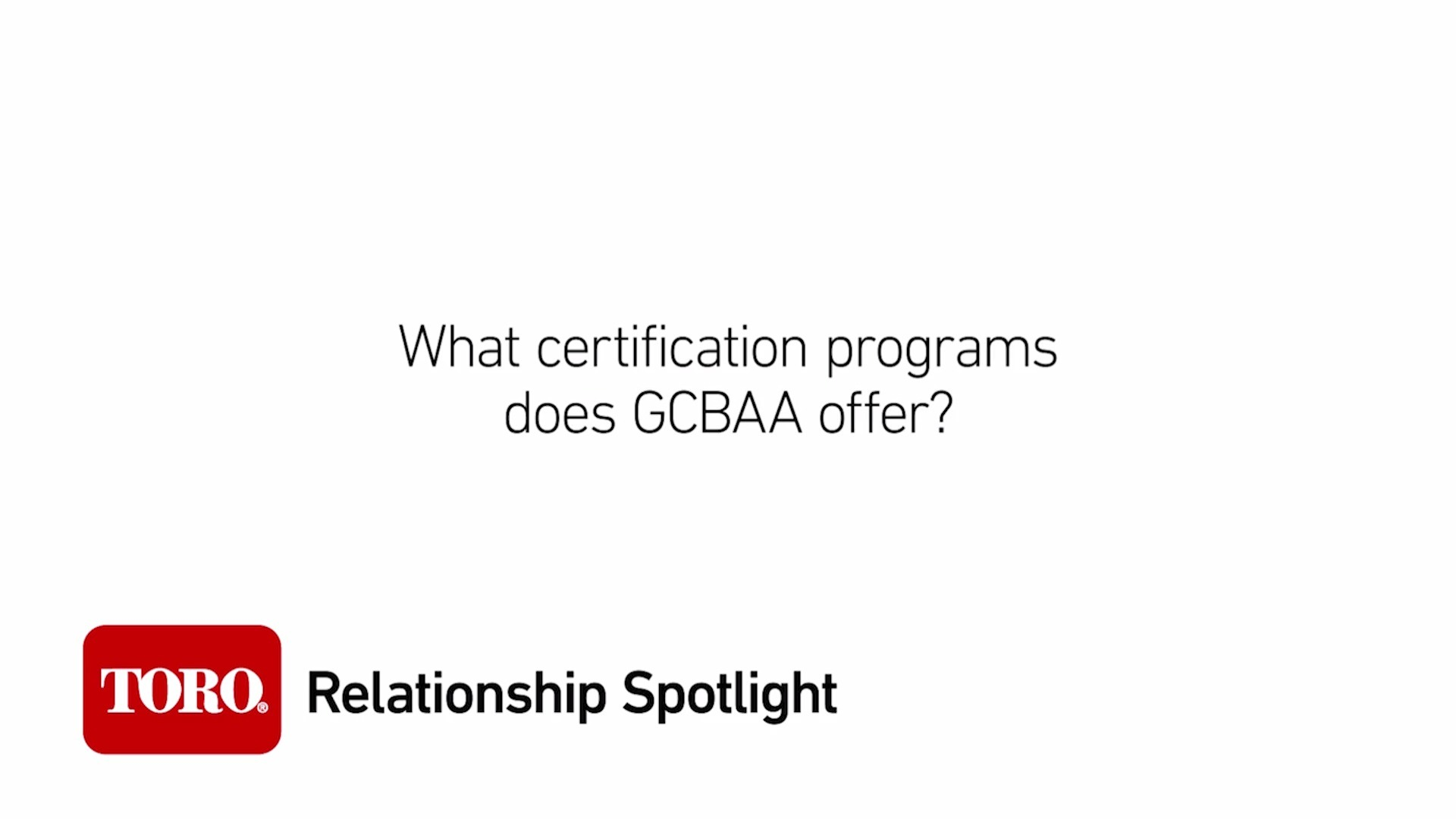 Relationship Spotlight: Professional Certifications