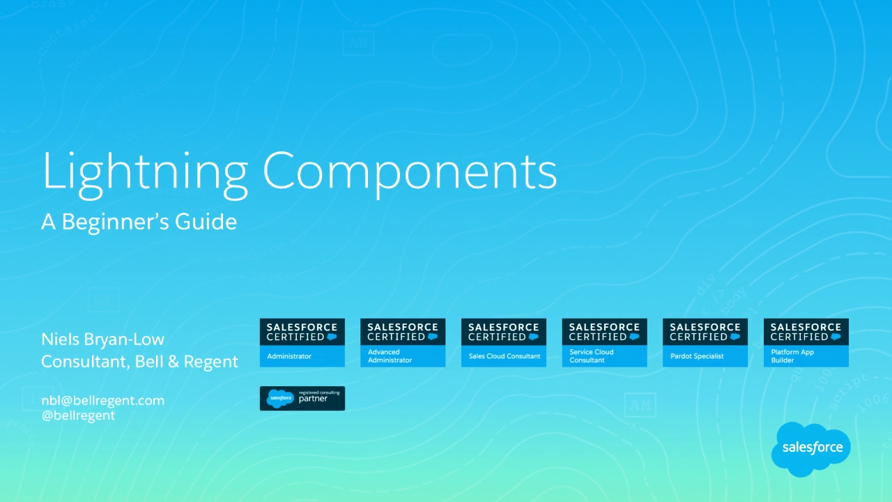 A beginners guide to lightning components salesforce live baditri Choice Image