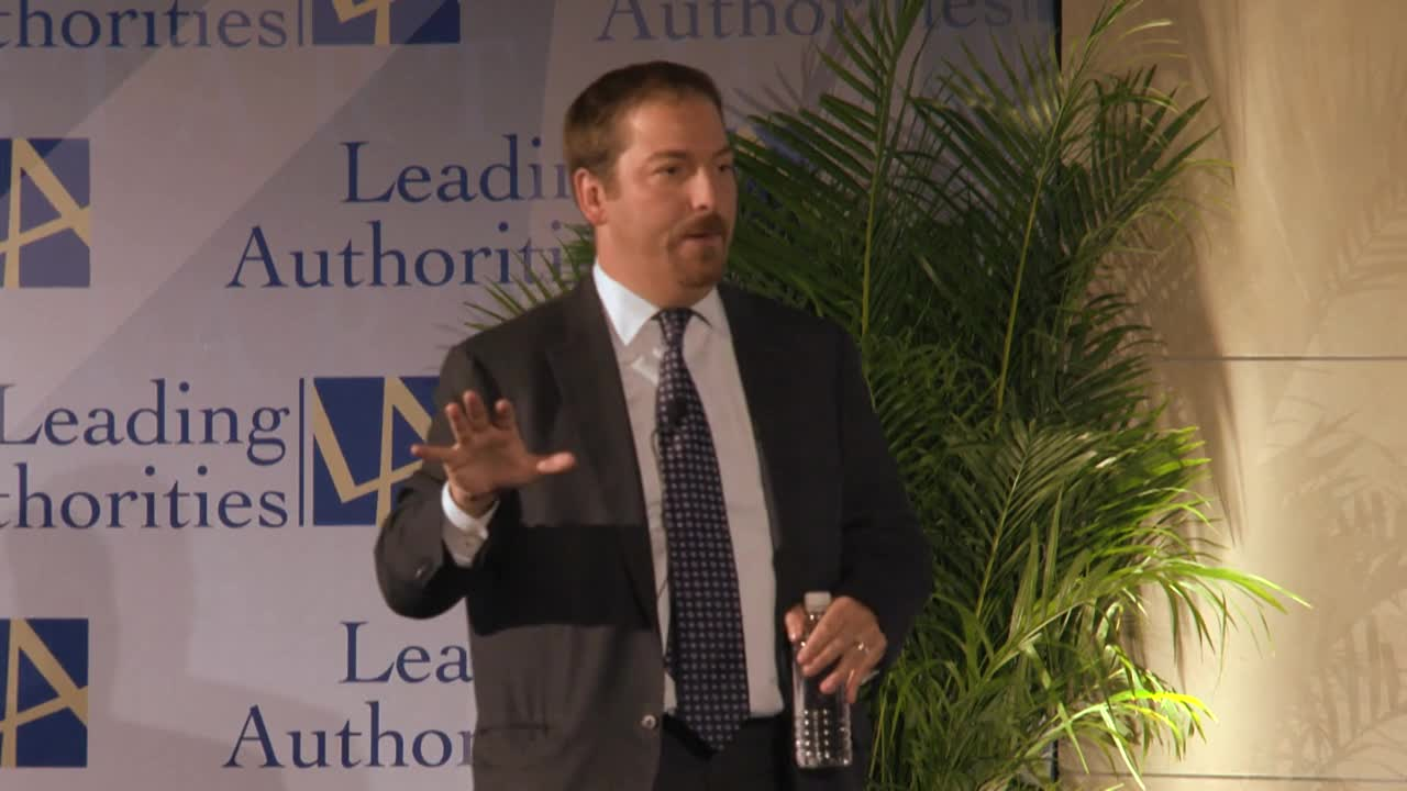 Chuck Todd on the White House and 2016 Elections