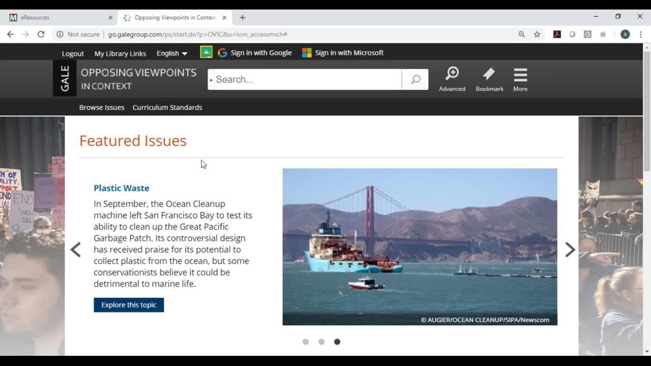 MeL Training Webinar  Opposing Viewpoints In Context Thumbnail