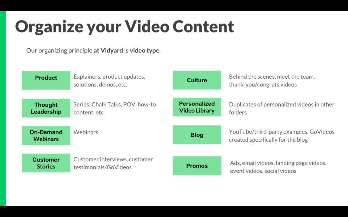 Video Across Your Business: Setting Yourself up to Scale